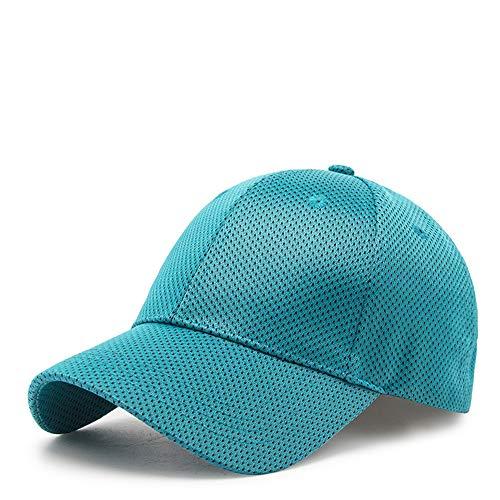 CZDXM Sonnenschutzkappen-Damen-Sonnenschutzkappe der neuen Baseballmütze des Sommers im Freien blau einstellbar - Dorfman Pacific Leder Hut