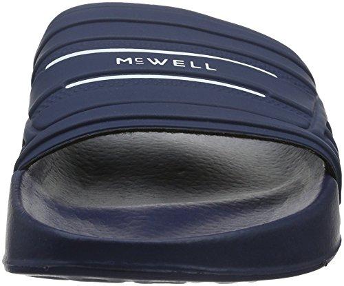 Uomo McWELL sandali da spiaggia Blu - Blu/bianco