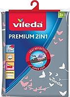 Vileda, Funda de planchado Premium 2 en 1, tres capas,  suave, 30-45 cm x 110-130 cm, modelos aleatorios