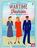 Historical Sticker Dolly Dressing Wartime Fashion