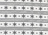 Rose & Hummel – Grau auf cremefarbenem Weihnachtsstern