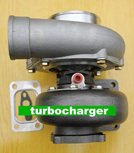 Gowe Turbolader für GT35gt3582r gt3582Kompressor A/R Turbine Light Gehäuse eine/R .63T3Flansch Wasser und Öl 4Bolt Turbo Turbolader - Wasser-steckdose Gehäuse