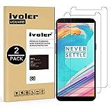 iVoler [2 Pack Pellicola Vetro Temperato OnePlus 5T [Garanzia a Vita], Pellicola Protettiva, Protezione per Schermo