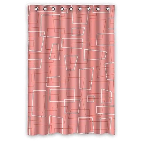 Home fashion Langlebig Geometrie, Vorhänge Dusche, Breite x Höhe/121,9x 182,9cm/W H 120von 180cm, Polyester, Best für Familie