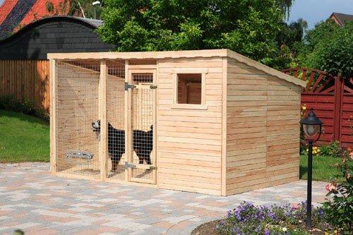 Erweiterung 2 m² für Hundezwinger