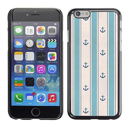 Graphic4You RED STRIPES Muster Harte Hülle Case Tasche Schutzhülle für Apple iPhone 6 / 6S Design #6