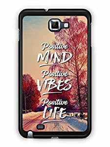 YuBingo Positive Mind Designer Mobile Case Back Cover for Samsung Galaxy Note 1