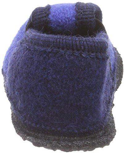 Kitz - Pichler Bobby Drachen, Chaussons courts, non doublées mixte enfant Bleu - Blau (royal 001)