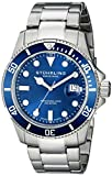 Stuhrling Original Aquadiver Analog Blue Dial Men's Watch - 417.03 best price on Amazon @ Rs. 5455