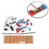 yourDroid Bausatz: LED Stroboskop rot/blau Strobe Löten Lernen Löttechnik DIY Elektronik
