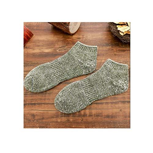 ZHAO ZHANQIANG 10 Paare 2019 Winter Thick Retro Terry Socken Herren-Boots-Socken Damen-Boots-Socken Paar Model, (Color : C7) -