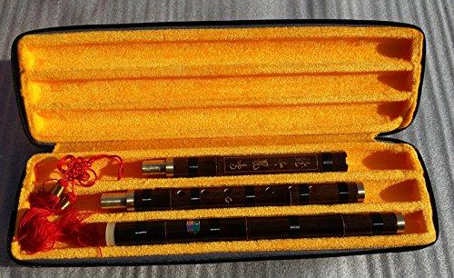 Qualität Carved Purple Bambus Flöte Xiao Chinesische Musikinstrument in G Schlüssel, 8Finger Löcher, 3Abschnitte