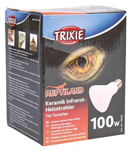 Trixie 76102 Keramik Infrarot-Wärmestrahler, 100 W, ø 75 x 100 mm