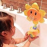 Da.Wa 1 pieza Baño Grifo de Ducha Forma de Girasol para Niños Bebés / Aprendizaje de Juguete de Regalo,Color al Azar