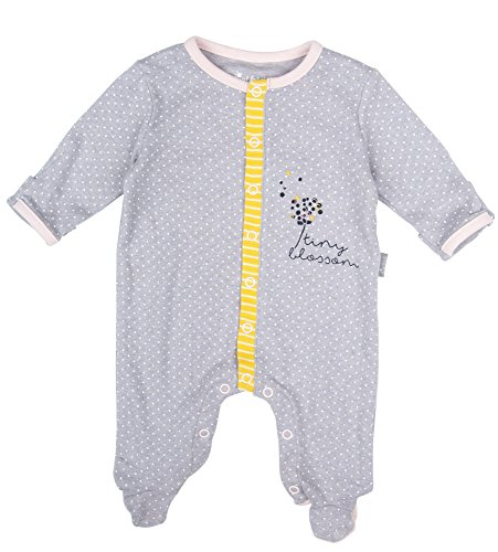 Sigikid Baby-Mädchen, New Born Strampler, Grau (Melange 97), 68