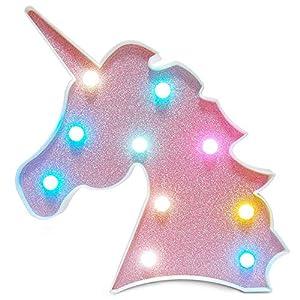 Colorido Unicornio LED Luz Noche