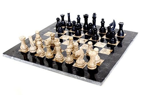 radicaln-16-inches-handmade-black-and-fossil-coral-marble-full-chess-game-original-marble-chess-set-