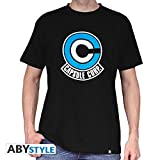 ABYstyle - Dragon Ball - Tshirt Capsule Corp Homme Black (L)
