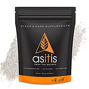 AS-IT-IS Nutrition BCAA 100% Pure Powder Pre/Post Workout Supplement - 250 Gms
