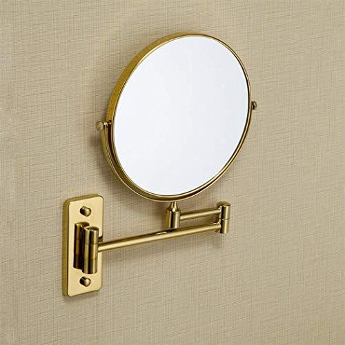 xy Zwei Modelle Golden Bad Spiegel Wand-Vergrößerungsspiegel Vergoldet Vanity Spiegel Einstellbare...