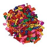 500 Stück/Pack Luftballons Party Dekoration Ballons Wasserbomben 3 Zoll Einfarbig Luftballons Ballons Schießen