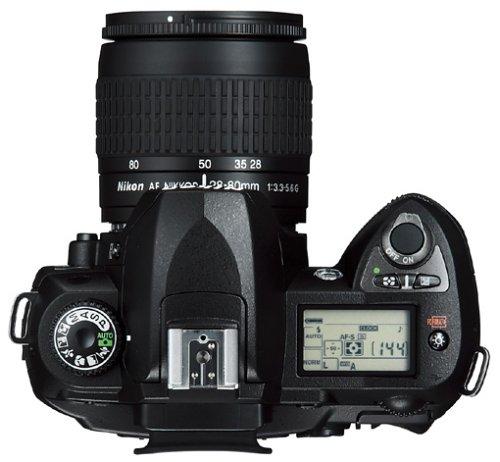 Nikon D70s SLR-Digitalkamera (6 Megapixel) Gehäuse in schwarz inkl. 1GB CF Ultra II Karte - 4