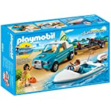 Playmobil Summer Fun - Pick Up con Lancha (6864)