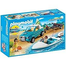 Playmobil Summer Fun - Pick Up con Lancha (6864)