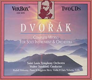 Works for Solo Instruments & Orchestra [Import USA]