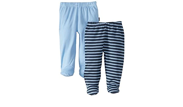 618452e631cf Jojo Maman Bebe Baby-Girls Newborn 2 Pack Leggings with Feet