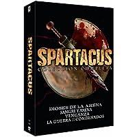 Pack Spartacus: Dioses De La Arena + Sangre Y Arena + Venganza + La Guerra De Los Condenados