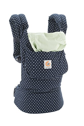 Ergobaby Original Collection Evolutionary Backpack Baby Carrier one size Ergobaby The baby's weight is evenly distributed between the wearer's hips and shoulders. The baby is ergonomically cradled in a natural seated position. It has front, back, and hip carrying positions. 10