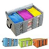 #8: Shag cloth storage box / cloth storage organizer / cloth organizer storage box