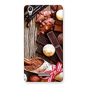 NEO WORLD Remarkable Chocolate Candies Back Case Cover for Lava-Pixel-V1