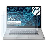 Bruni Schutzfolie kompatibel mit Lenovo IdeaPad C340 14 inch Folie, glasklare Displayschutzfolie (2X)