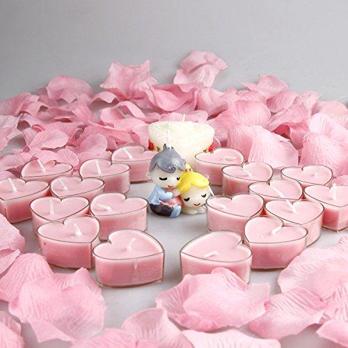 Anvaong Aromatherapie Nichtraucher Zylindrische Weiße Große Spalte Niedrige Temperatur Kerze, Geruchlos, Aromatherapie Kerze, Neue Milch - Warme Liebe