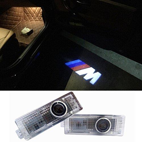 Preisvergleich Produktbild Inlink 2 pieces Courtesy Lighting Door Shadow Lamps Logo Projector