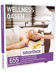 SMARTBOX - Geschenkbox - WELLNESS OASEN - 655 Behandlungen: Massagen, Beauty- und Wellnessmomente
