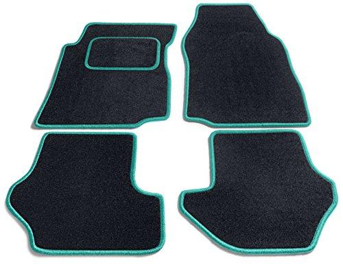JediMats 90036C Java Maßgeschneiderte Fußmatte für Ihr Auto Schwarz
