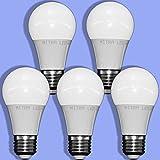 E27 Led warmweiss ca. 60 Watt Glühbirne Ersatz 650 Lumen 7 Watt Tropfen Energiesparlampe mini MITRA LED 5er Pack LED Lampe warmweiß A60 (7)