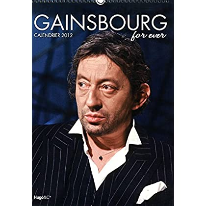 CALENDRIER MURAL SERGE GAINSBOURG 2012