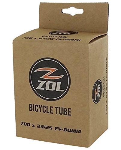 Zol Road Fahrrad Bike Schlauch 700x 23/25C lang Presta-Ventil 80mm