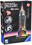 Ravensburger 12566 1- Empire State Building Night Edition Puzzle, mehrfarbig