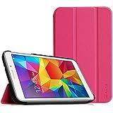 Samsung Galaxy Tab 4 7.0 Funda – Fintie Ultra Slim Case Funda Carcasa con Stand Función para Samsung Galaxy Tab 4 7.0 (SM-T230 T231 T235), Magenta