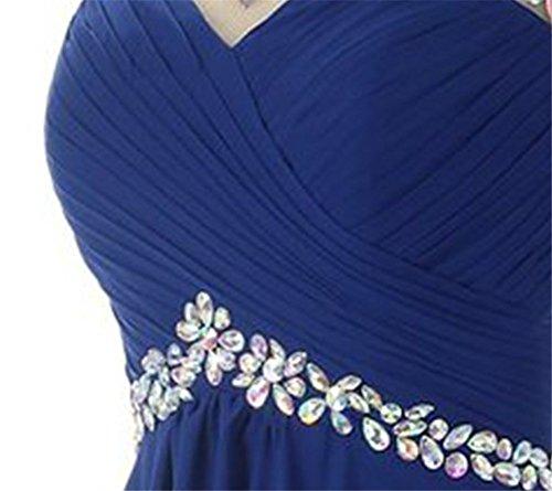Drasawee Damen A-Linie Kleid Dunkelrosa