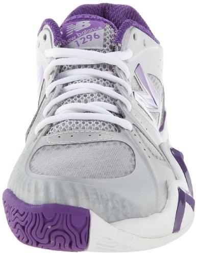 New Balance Wc1296 B, Chaussures de running femme Blanc (Sp White/Purple)