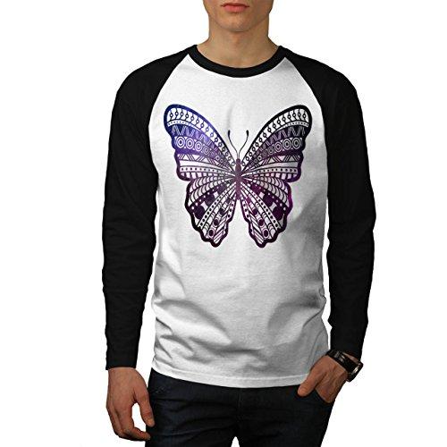 cosmique-papillon-insecte-beaute-homme-nouveau-blanc-avec-manches-noires-l-base-ball-manche-longue-t