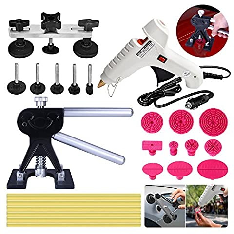 Super PDR® 33 pièces outils de kit réparation carrosserie débosselage auto outillage