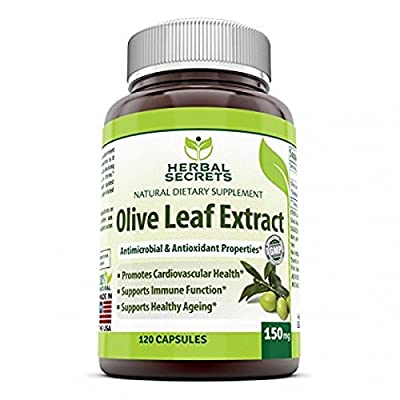 Herbal Secrets Olive Leaf Extract - 150 Mg, 120 Caps from Herbal Secrets