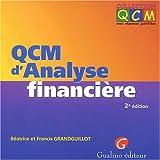 QCM d'analyse financière, 2e édition